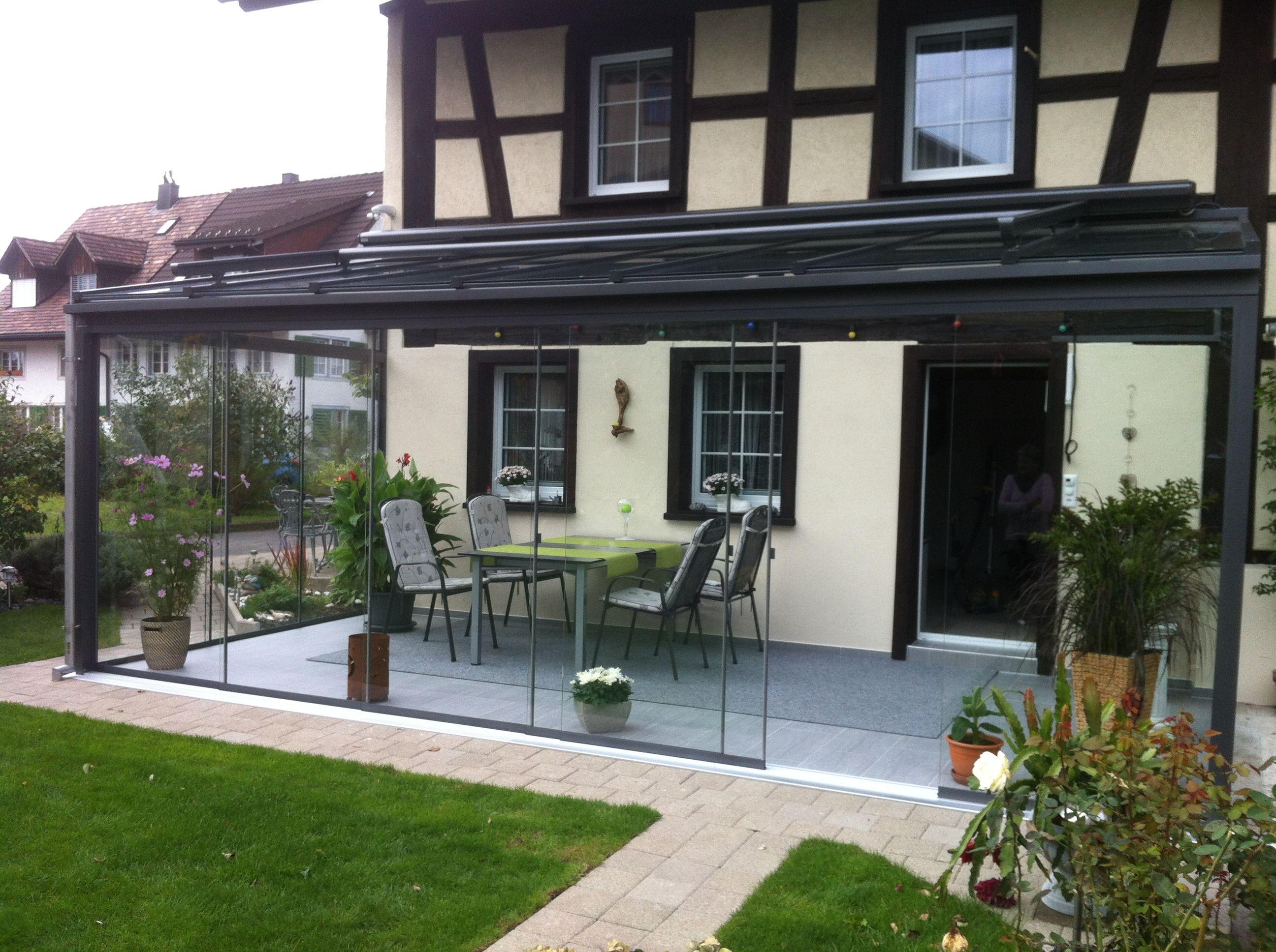 elegant glas wintergarten haus design ideen. Black Bedroom Furniture Sets. Home Design Ideas